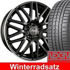 """18"""" Z Design Winterräder Schwarz 225/40 NEXEN für BMW 3er E36 Lim. Touring 3C"""