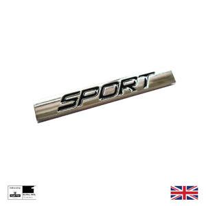 Chrome Sport Car Metal Boot Badge Emblem Logo Decal 3D New Trunk Sticker