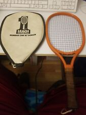 Vintage Leach Racquetball Bandido Racquet Near Mint