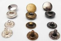 METAL PRESS STUDS SNAP FASTENERS - SEWING LEATHER CRAFT