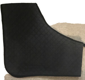 Black Cob Sized Quilted Anti Rub Shoulder Guard / Vest