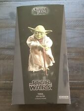 Star Wars Sideshow Collectibles Yoda- Jedi Mentor 1:6 Scale Exclusive New