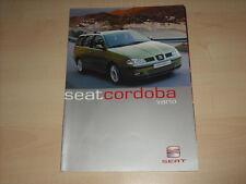50404) Seat Cordoba Vario Prospekt 06/2000