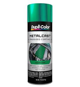 Duplicolor MC203 Metalcast Green Anodized Paint Coating 11oz Aerosol Spray