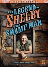 Legend Of Shelby The Swamp Man: Season 1 (2014, DVD NIEUW)2 DISC SET