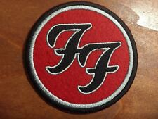 """Foo Fighters Logo Patch - Embroidered Iron On Patch 3 """""""