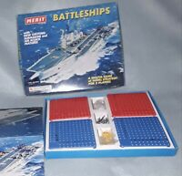 Vintage and collectable Battleships game by Merit made in England hms ark royal