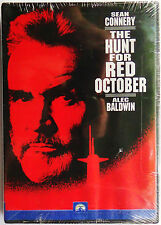 The Hunt for Red October DVD 1998 (Sean Connery & Alec Baldwin)  Widescreen NEW