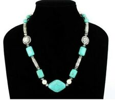 Turquoise Necklace - High Fashion Jewelry No. 9