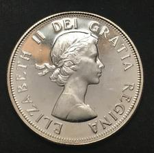 Canada 1962 Silver 50 Cents Argent .800 Elizabeth II / 50-022