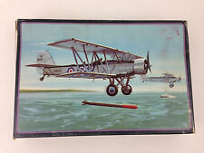 Vintage AMT Blackburn Shark Torpedo Bomber Plane 1:72 Scale Model Kit INCOMPLETE