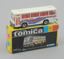 Tomica Domestic Series (Japan) 1/116 Hino Rainbow Skeleton Bus #41 *MIB*