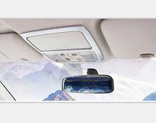 2pcs Interior Reading Light Lamp Cover Frame Trim Fit for Honda CRV Matte 12-15