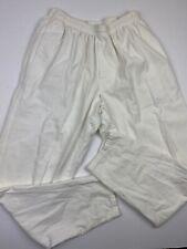 Vintage Stussy Pants White 100% Cotton Size Large