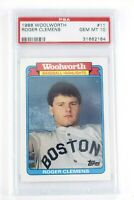 1988 Topps Woolworth Roger Clemens #11 PSA 10 Gem Mint Boston Red Sox