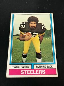 1974 Topps FRANCO HARRIS #220 Pittsburgh Steelers *NV18