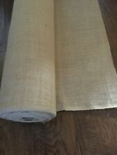 "New Jute Natural Burlap Fabric By The Yard 40"" Width Wedding Table Craft Holiday"