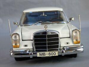 Rare 1:18 MERCEDES BENZ 600 Landaulet W100 6.9 Convertible Collectible Toy Car