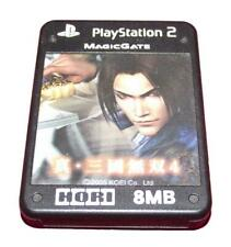 Dynasty Warrior 4 Hori Magic Gate PS2 Memory Card PlayStation 2 8MB