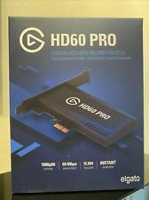 New and Sealed Elgato Game Capture HD60 PRO *IN HAND*