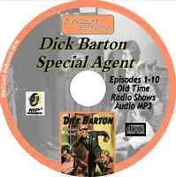 Dick Barton Special Agent - 10 Old Time Radio Shows - Audio MP3 CD