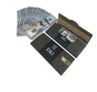 3 PACKS of BENJI $100 Bill King Size Hemp Rolling Paper Money w/Tips 20 Per Pack