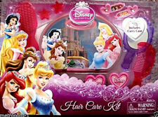 DISNEY PRINCESS,KIDS HAIR CARE KIT,W/ HAIR CARE ACCESSORIES & CARRY CASE,5+,NEW