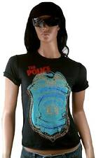 "Amplified THE POLICE""Roxanne""Gold Strass Star T-Shirt S"