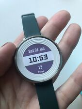 pebble time round 14mm with silicone Teal Sport Band