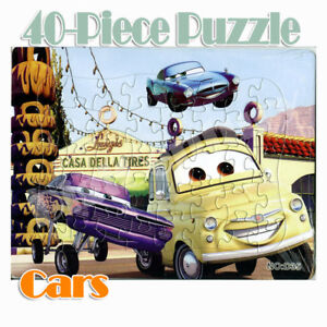 Children Kids Disney car40-piece Jigsaw Puzzle Drawing Toy Best Gifts #003