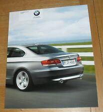 BMW SERIE 3 COUPE E92 OPUSCOLO 2009 325i 330i 335i 320d 325d 330d 335d M Sport
