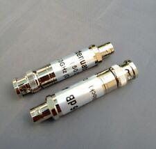 (2 PCS) BNC 6db 300KHz-3GHz DC Block Attenuator Pad 50 Ohm 2 Watt.- USA Seller
