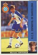 MOISES ARTEAGA # ESPANA RCD ESPANYOL STICKER CROMO PANINI LIGA 1996 ESPANA