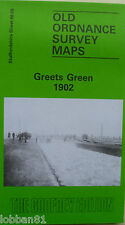 Old Ordnance Survey Map Greets Green near Dudley 1902 Sheet 68.09  Brand New