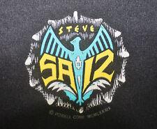 VINTAGE 80's 1989 POWELL PERALTA STEVE SAIZ SKATE SKATEBOARD PUNK ROCK T-SHIRT