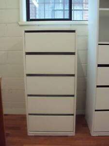 Wardrobe Cabinet Clothes Storage Organiser Insert 5 Drawer unit 110cm ASSEMBLED