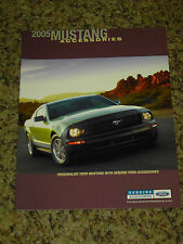 2005 FORD MUSTANG ACCESSORIES BROCHURE 12 PAGES MINT!