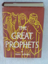 Ruhi Afnan THE GREAT PROPHETS Moses Zoroaster Jesus Philosophical Library c.1960