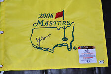 JACK NICKLAUS SIGNED 2006 OFFICIAL MASTERS FLAG- GLOBAL COA