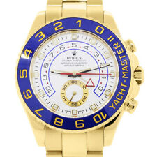 Rolex Yacht-Master II 116688 Men's Yellow Gold 44mm Automatic 1 Year Warranty