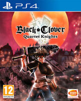 Negro Clover Quartet Knights PS4 PLAYSTATION 4 Namco