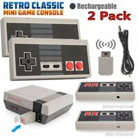 2*Wireless Game Controller Gamepad for NS NES Classic Edition Mini Console