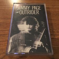 "Jimmy Page ""Outrider"" (Cassette Tape, 1988) ""Led Zeppelin"" VG+"