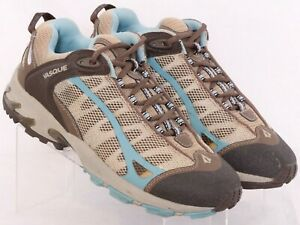 Vasque 7625 Velocity Brown Mesh Lace-Up Hiking Trail Sneaker Shoes Women's 10M