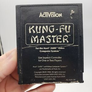 Kung-Fu Master (Atari 2600, 1984) Cartridge Only Tested and Working Great Cond.