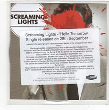 (FN996) Screaming Lights, Hello Tomorrow - 2009 DJ CD