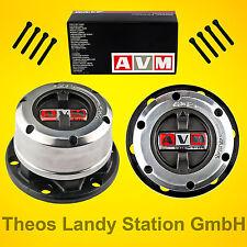 AVM Freilaufnaben für Mitsubishi Pajero I, 2.3TD, 2.5TD + V6 3.0, Freilaufnabe