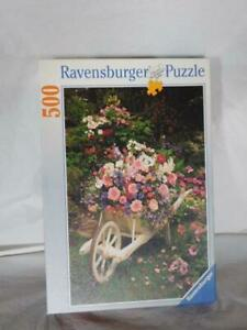 vintage Ravensbuger roses flowers puzzle jigsaw 500 pc arts crafts hobbies old