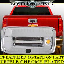 2014-2018 CHEVY COLORADO Chrome Tailgate Handle Cover Rear W/KEYHOLE W/CAM HOLE