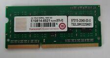 Transcend 2GB 1Rx8 DDR3L 1600 SODIMM 204Pin PC3-12800 RAM Arbeitsspeicher - NEU